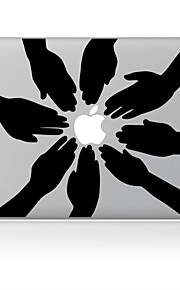 de kant ontwerp decoratieve huid sticker voor macbook air / pro / pro met retina-display