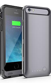 Ifans ® MFI 3100mah iphone 6 batterikasse ekstern aftagelig backup magt oplader Case for iPhone 6 (assorterede farver)