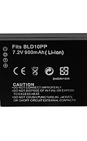 900mah camera batterij voor Panasonic DMW-bld10e ((t)