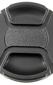 mengs® snap-on objektivdæksel cover med snor / snor til nikon canon og sony