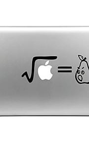 hat-prince pære designet utskiftbare dekorfolie som klistres for MacBook Air / pro / pro med retina-skjerm