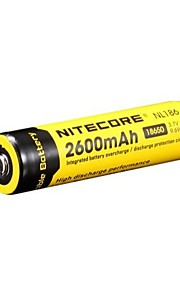 bateria recarregável 18650 2600mAh 3.7v li-ion NiteCore nl186