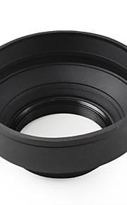 mengs® 58mm universal 3-trins sammenklappelig vidvinkel standard teleobjektiv hætte for canon nikon sony olympus camera