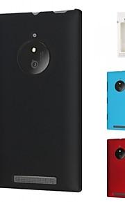 kemile nueva piel protectora caja del teléfono contraportada de plástico duro para Nokia Lumia 830 (colores surtidos)