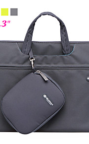 pu lær laptop veske netbook tablett tilfellet med musen bag for macboook 13.3 ""