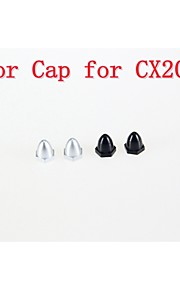 cheerson CX-20 RC Quadrokopter reservedele motor cap 1set / 4stk CX-20-003 / 004 for CX20