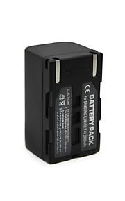2000mAh SB lsm160 camcorder batterij voor Samsung sc-d362 sc-D363 SC-D364