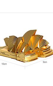 sydney ópera P022 enigma do metal 3d estéreo modelo de construção diy quebra-cabeça de brinquedo adulto