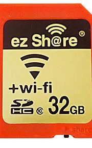 classe 32gb partes ez 10 wi-fi sem fio SDHC cartão de memória SD