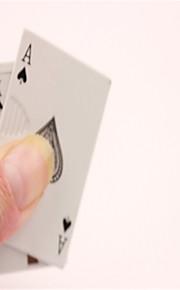 creative spillekort metal vindtæt butan lighter assorterede farver