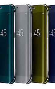 specchio di cristallo caso tutto il corpo per la galassia S6 bordo g9250 (colori assortiti)