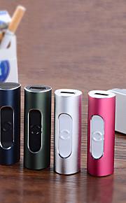 yuehuo f2 bærbare&kreativ usb elektronisk cigaret lighter - assorterede farver