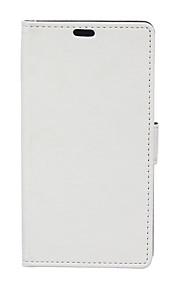 de cuero flip caso protector magnético para el htc uno a9 (colores surtidos)