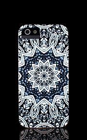 아이폰 5S에 대한 아이폰 5 케이스 아즈텍 만다라 꽃 패턴 커버