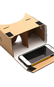 DIY Google Cardboard Virtual Reality 3D Glasses for Phone