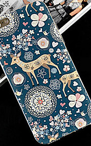 Cute Cartoon  Pattern Transparent Tpu Soft Cover Case For Apple IPhone 4 4s Case