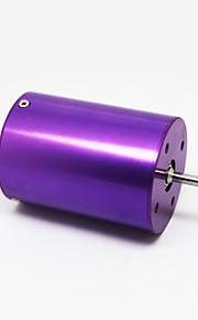 Xti-3650 2700kv 4poles børsteløs motor til 1/10 bil&400-600mm båd, lilla