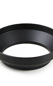 mengs® 55mm aluminium vidvinkel modlysblænde til Canon Nikon sony fuji PENTAX olympus etc alle former for digitale dslr kamera.