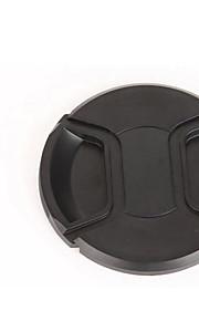 dengpin 52 milímetros tampa da lente da câmera para Olympus lente 12-50mm EM5 Mark II e-m1 e-m5 e-m10 e-PM1 e PM2-OMD + uma corda trela