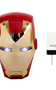 disney vendicatori Marvel Iron Man banca di potere 6000 mAh batteria esterna per iPhone, Samsung e qualsiasi dispositivo USB