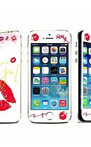 아이폰 5 / 5S에 대한 방폭 강화 유리 고화질 고전 스티커