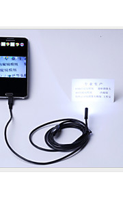 android endoscope USB endoscope android 7mm 6 conduit étanche caméra endoscope USB 2m otg android caméra IP66 CCTV