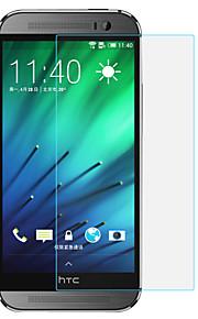 pinli 2.5D 9h reais anti olhos azuis claros cuidado protetor de tela de vidro temperado para HTC One m8