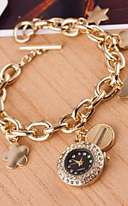 kvinders er high-grade marmor spejl diamant armbånd ren kvarts ur