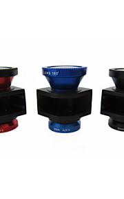 3-i-1 set plug-in iphone4s för telefonens kamera