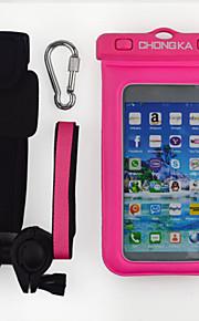 sacchetto del telefono manubrio impermeabile del telefono della bicicletta cassa impermeabile