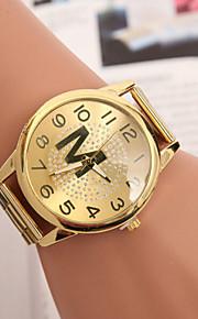 damemode optisk version af kvarts swiss legeret stål bælte ur