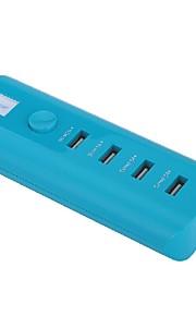 whirldy caricatore portatile 4USB alta carica ideale per iPhone, iPad, Samsung, nesso, htc, sony sicura ed efficiente velocità