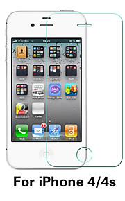 beittal® 0.26mm 9h השקוף הקצה המעוגל מגן מסך קרום זכוכית משוריינת עבור 4 / 4S iPhone