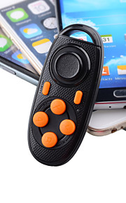 multi-functionele bluetooth v3.0 zelfontspanner / game controller voor iPhone / samsung / sony - zwart + oranje