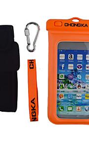 waterdichte mobiele telefoon geval tas voor HTC voor iPhone 6plus