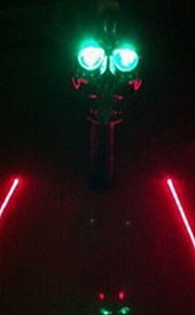 Fashion Cycling/Mountain Bike/Road Bike/Recreational Cycling Mounts & Holders Plastic  LED Light Red/Blue/Green Light