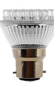 b22 / E27 2W 38-ledede 120-155lm naturlig hvitt lys LED spot pære (230V)