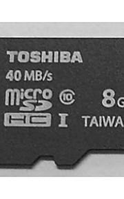 Toshiba 8gb class10 40m / s cartão de memória de alta velocidade