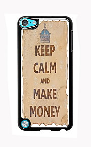 Keep Calm and Make Money Design Aluminum High Quality Case for iPod Touch 5