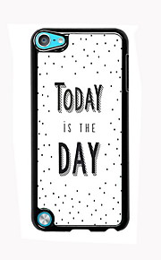 Today is The Day Design Aluminum High Quality Case for iPod Touch 5