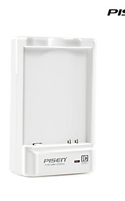 pisen sumsung portatile g3502u caricabatteria ii intelligente caricatore del cellulare ic con spina CA pieghevole bianco