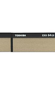 Toshiba 64gb usb 3.0 flash de transmemory pen drive ex2 alta velocidade de leitura 222mb / s para gravação 205mb / s