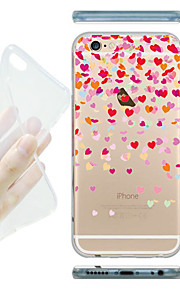 MAYCARI® Love Flying Transparent Soft TPU Back Case for iPhone 6