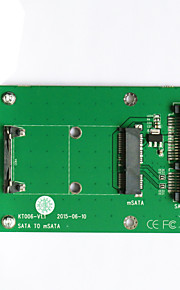 Maiwo SATA TO mSATA Card Card Interface Card KT006A