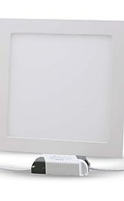 hry® 24W 2400lm kvadrat taklampa ledde lamporna ledde infälld downlight (85-265v)