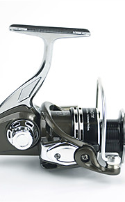 6000 Size 4.9:1 Full Metal Reel 10+1 Ball Bearings Full Metal Sea Fishing Freshwater Fishing Carp Fishing Reel
