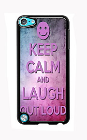 Keep Calm and Laugh Out Loud Design Aluminum High Quality Case for iPod Touch 5