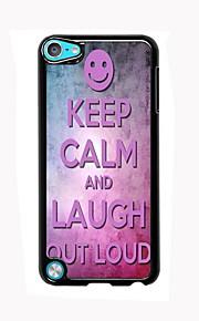 진정 유지 및 아이팟 터치 5 큰 소리로 디자인 알루미늄 높은 품질의 케이스를 웃음