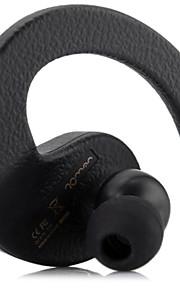 elegante auricolare senza fili mini cuffia stereo Bluetooth R9000 romano (nero)