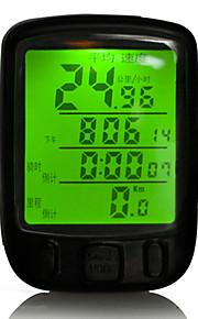 Bike Computer,Waterproof 28 Multifunction Bike Bicycle Cycling Computer Odometer Speedometer LCD Backlight Backlit Computer
